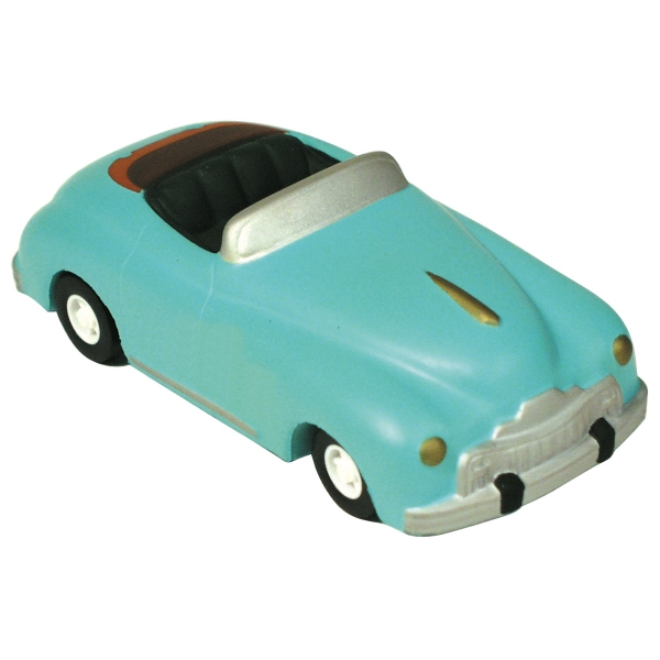 Personalized Squeezies (R) roadster stress reliever