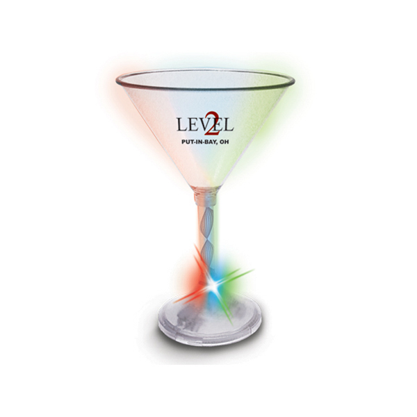 Customized Color-Changing Martini Glass