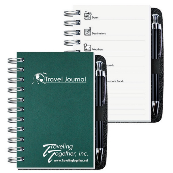 Printed Travel Journal