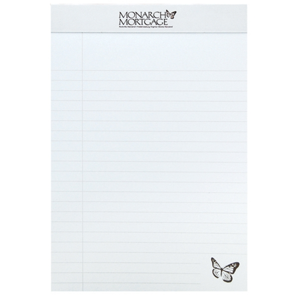 Custom Legal Pad with Imprinted Sheets