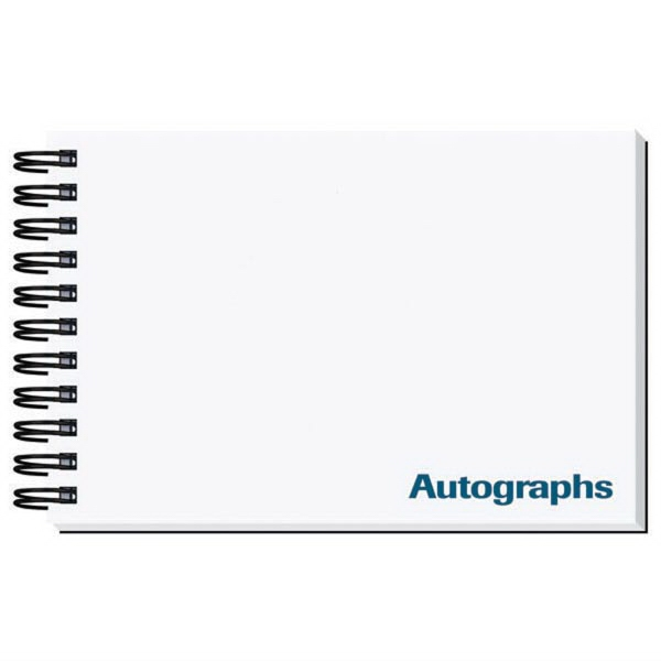 Printed Autograph Book