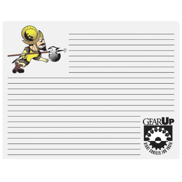 Personalized Mouse Note Pad