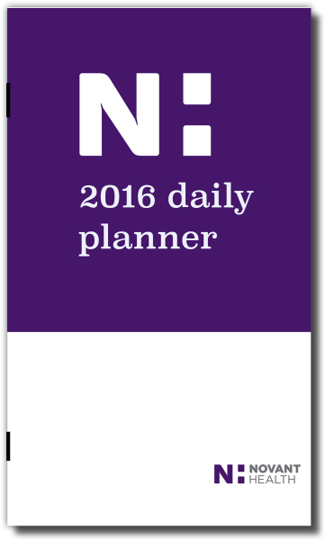 Custom Monthly Pocket Planner