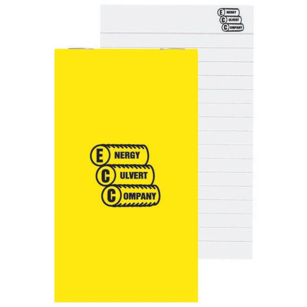 Imprinted Top Stapled Memo Book