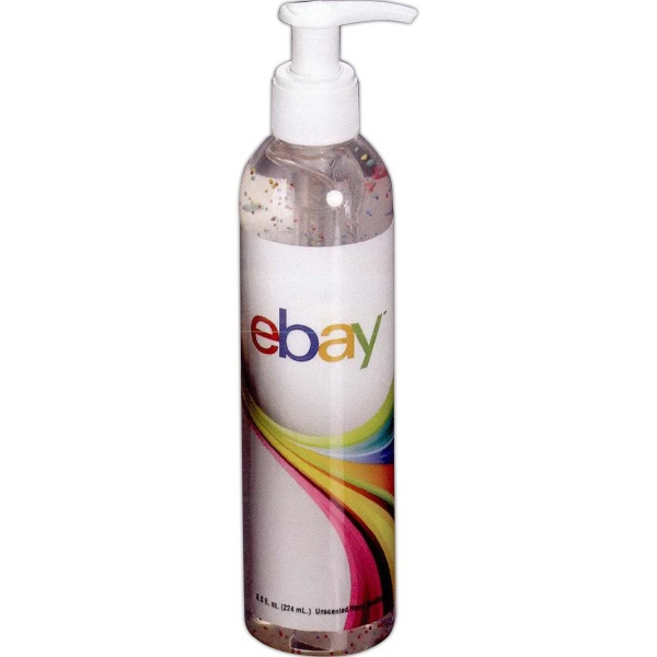 Printed 8 oz Moisture Bead Sanitizer