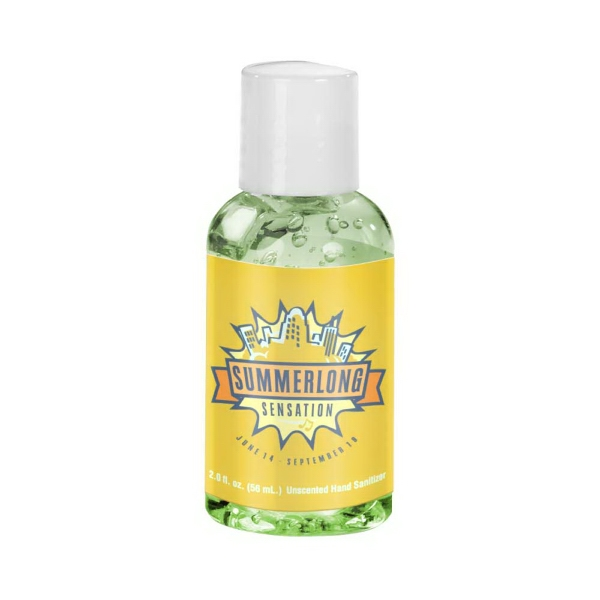 Promotional 2 oz Tinted Sanitizer