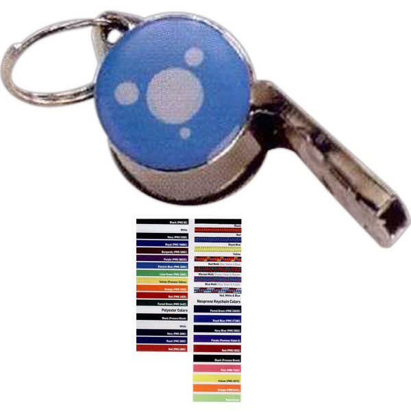 Personalized Metal Whistle