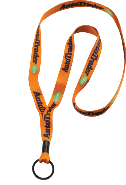 "Printed 1/2"" Polyester Dye Sublimated Lanyard"