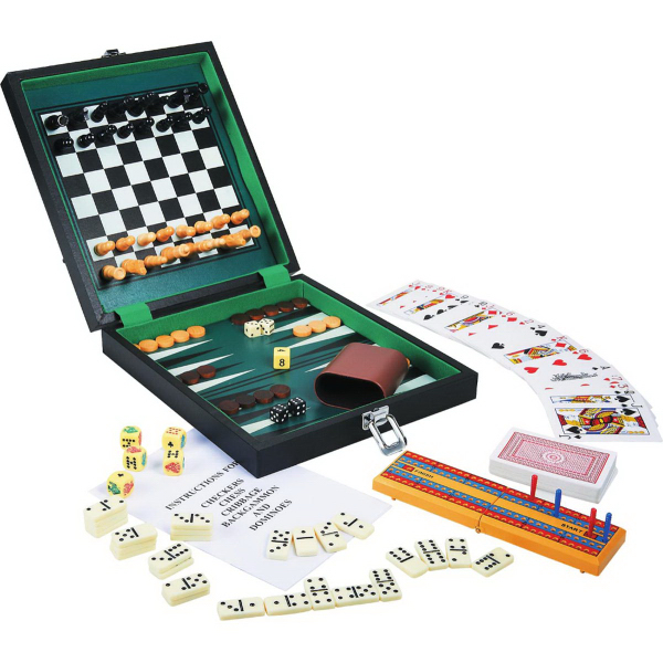 Personalized Six-In-One Game Set