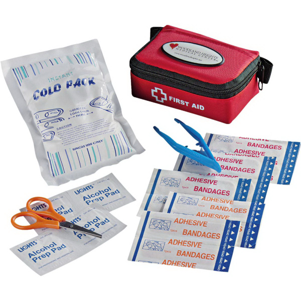 Printed StaySafe Compact First Aid Kit