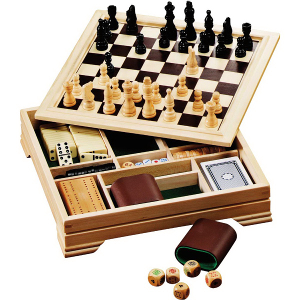 Printed Lifestyle 7-in-1 Desktop Game Set