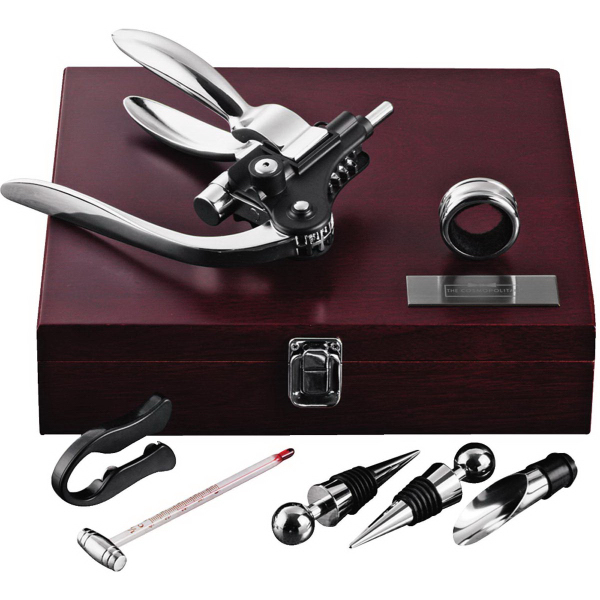 Imprinted Executive Wine Collectors Set
