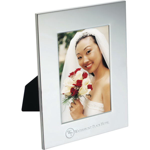 Custom Radiance Silver Plated Photo Frame