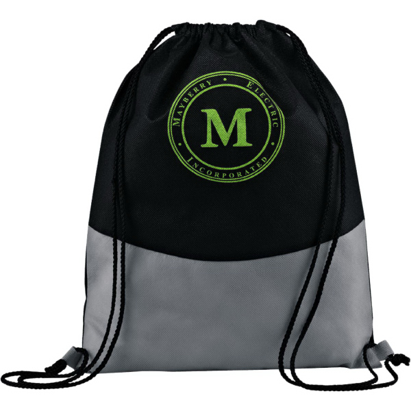 Personalized PolyPro Non-Woven Cinch