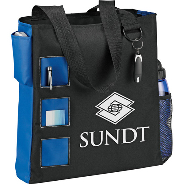 Printed Square Convention Tote