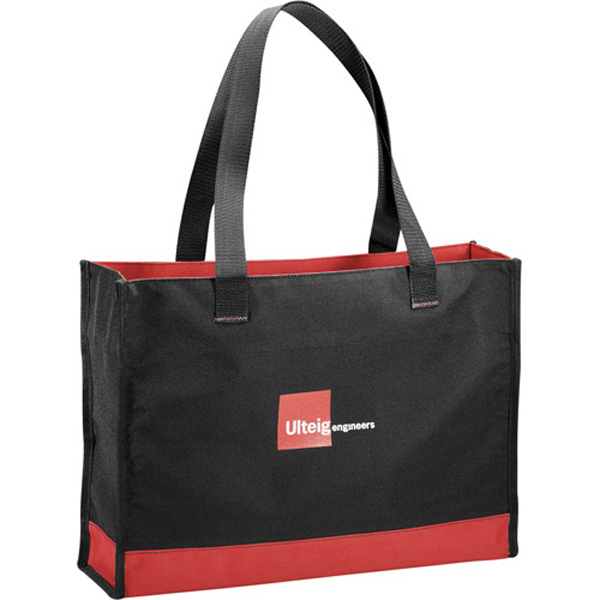 Personalized Colorband Carry-All Tote