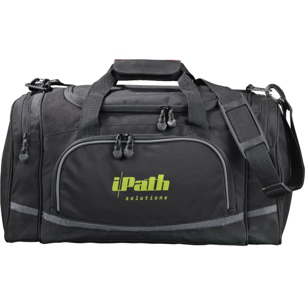 "Imprinted Quest 20"" Duffel Bag"
