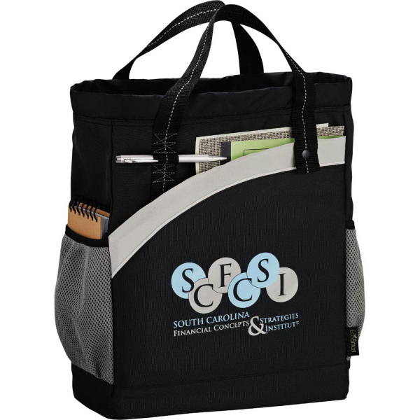 Promotional Arches Recycled PET Backpack Tote