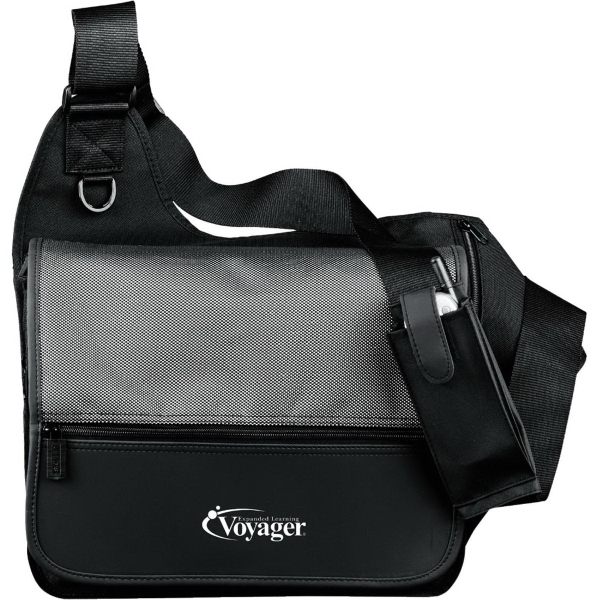 Printed MicroTek Messenger Bag