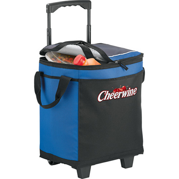 Customized California Innovations (R)32-Can Rolling Cooler