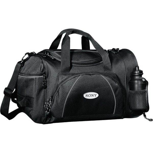 "Imprinted Boundary 20"" Duffel Bag"