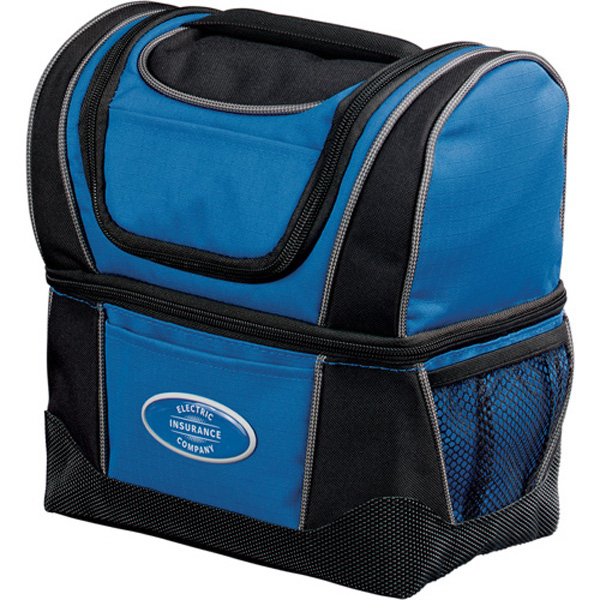 Imprinted WorkZone Dual Compartment Lunch Cooler