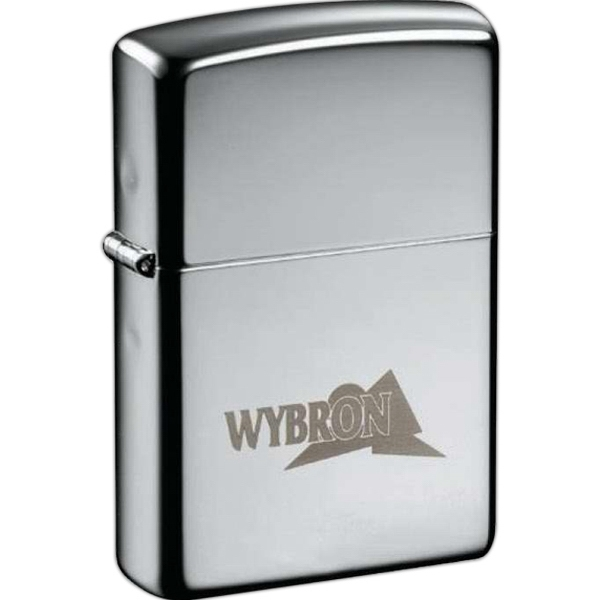 Imprinted Zippo (R) Windproof Lighter High Polish Chrome