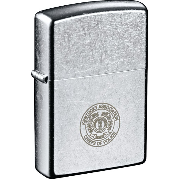 Printed Zippo (R) Windproof Lighter Street Chrome