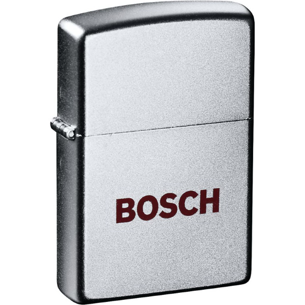 Customized Zippo (R) Windproof Lighter Satin Chrome