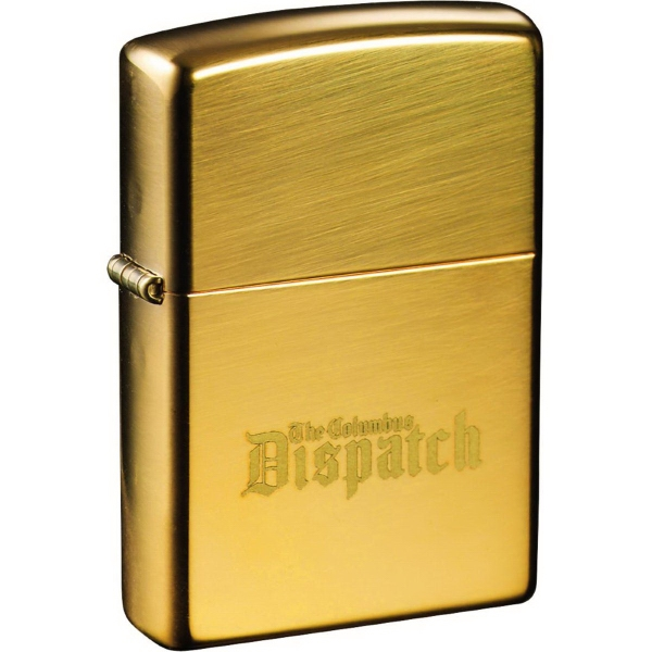 Custom Zippo (R) Windproof Lighter High Polish Brass