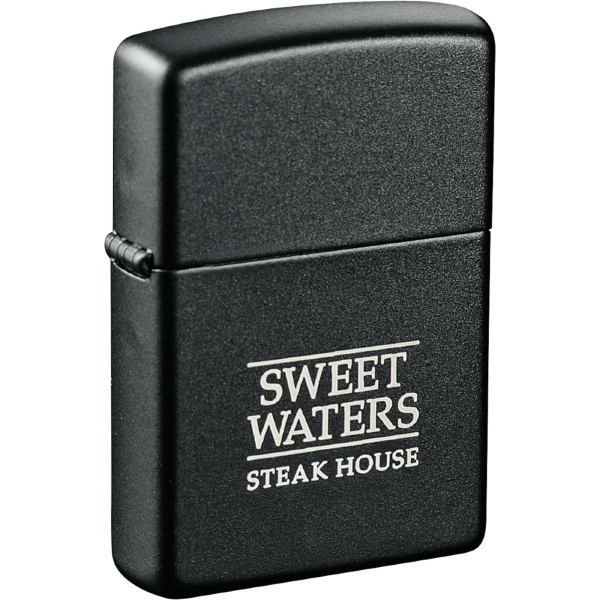 Personalized Zippo (R) Windproof Lighter Black Matte