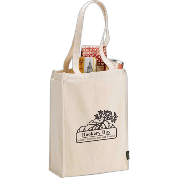 Customized Essential Organic Cotton Grocery Tote
