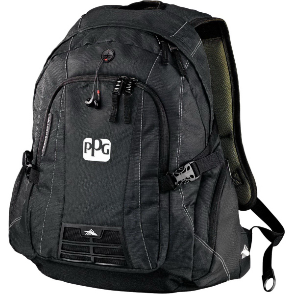 Imprinted High Sierra (R) Magnum Compu-Backpack