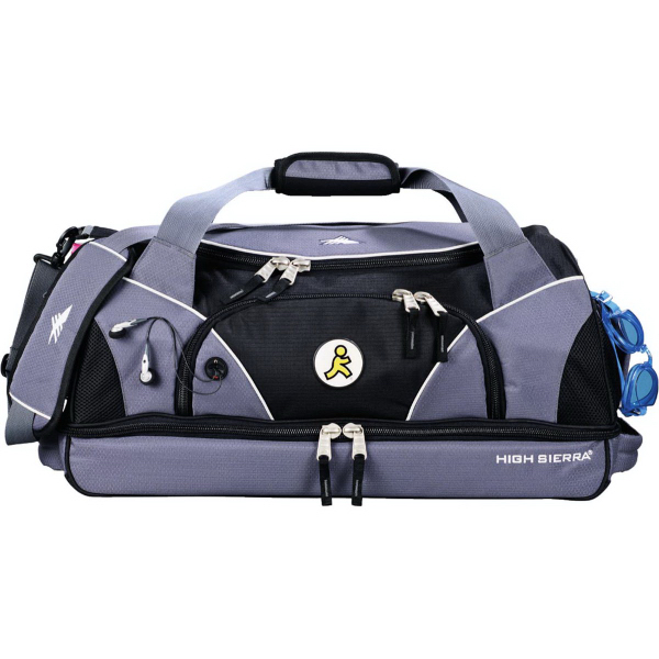 "Imprinted High Sierra (R) 24"" Crunk Cross Sport Duffel Bag"