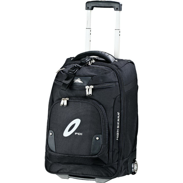 Imprinted High Sierra 21 Wheeled Carry-On with Compu-Sleeve