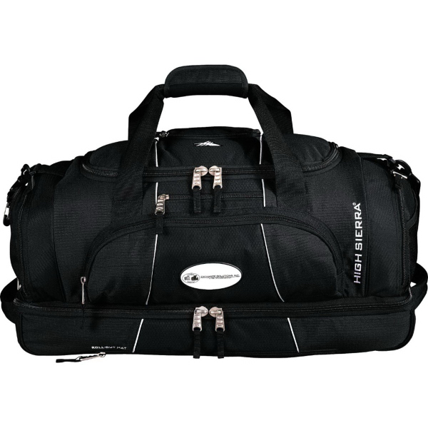 "Customized High Sierra (R) Colossus 26"" Drop Bottom Duffel Bag"