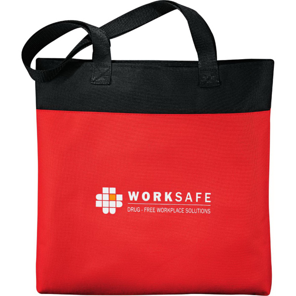 Imprinted Excel Sport Meeting Tote