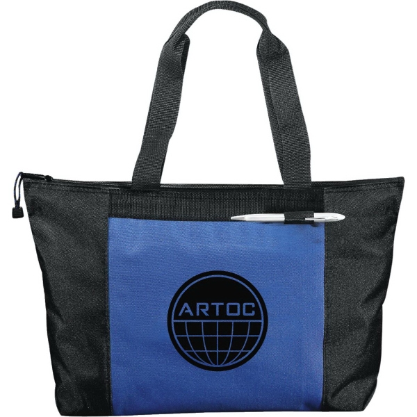 Custom Excel Sport Zippered Meeting Tote