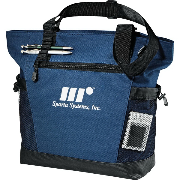 Imprinted Urban Passage Zippered Travel Business Tote