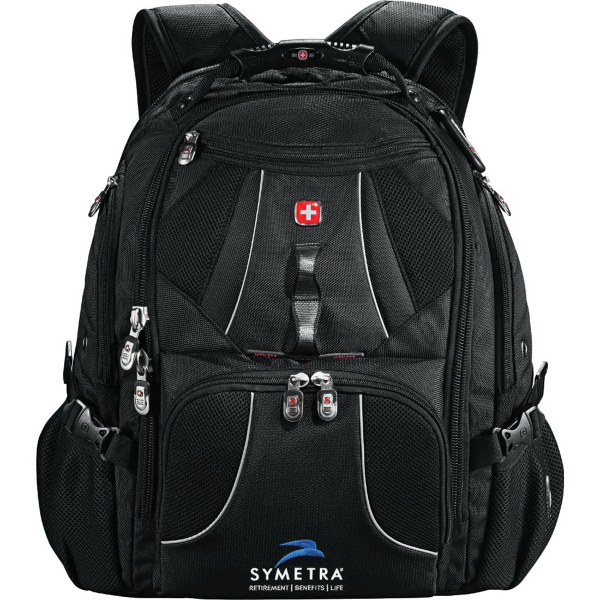 Imprinted Wenger (R) Mega Compu-Backpack