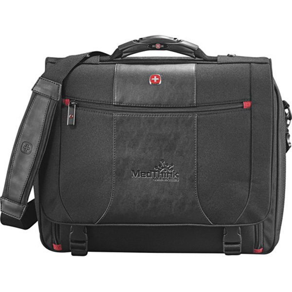 Customized Wenger (R) Transit Compu-Messenger Bag