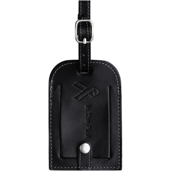 Personalized Millennium Leather Identification Tag