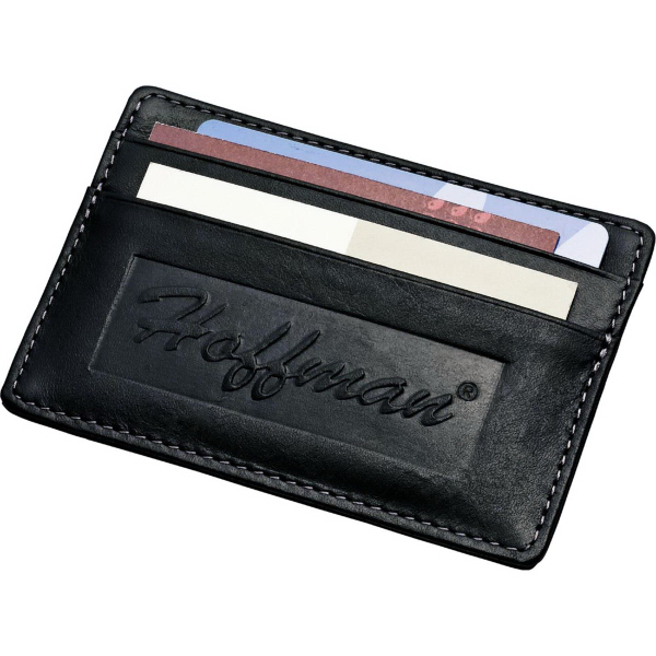 Custom Millennium Leather Card Wallet