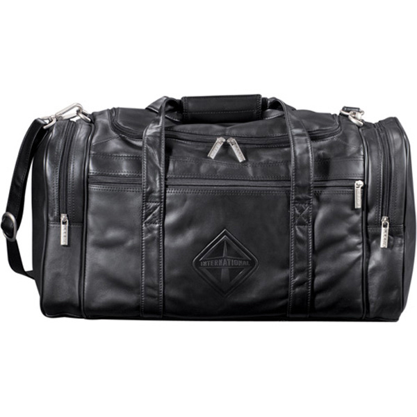 "Promotional Millennium Leather 20"" Duffel Bag"