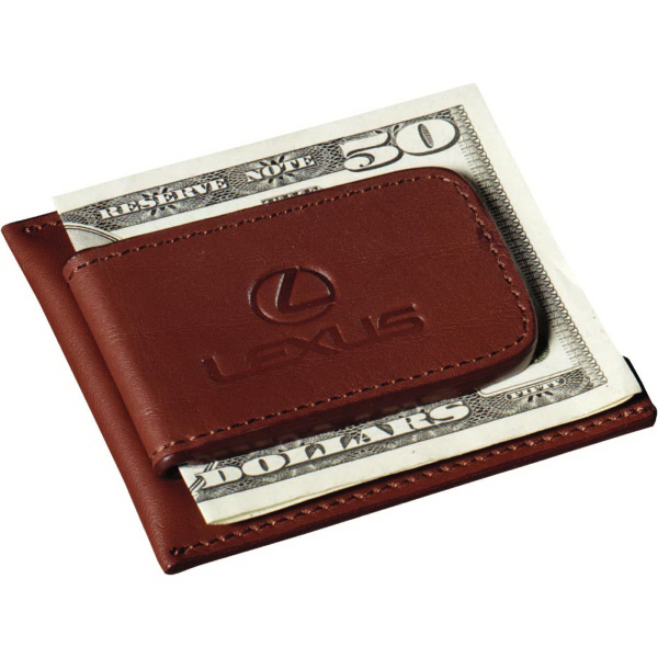 Printed Cutter & Buck (R) Money Clip Card Case