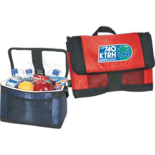Imprinted Ice (R) 12-Can Cooler with Coolflex