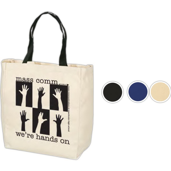 Custom Give-Away Tote - 6 oz. Cotton