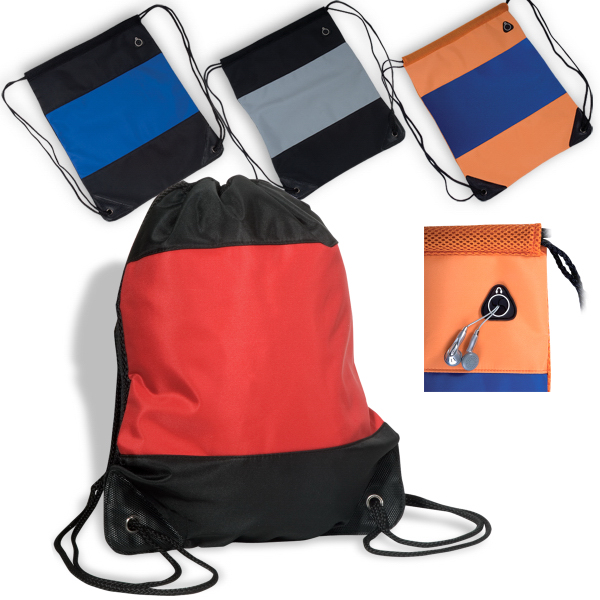 Custom Microfiber String Backpack