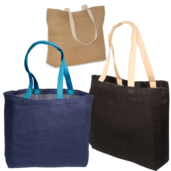 Imprinted Eco-Green Jute Tote