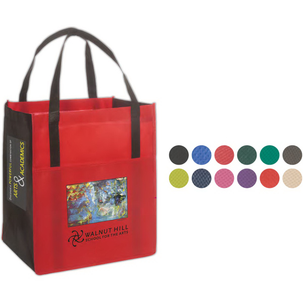 Personalized Metro Enviro-Shopper - 85GSM